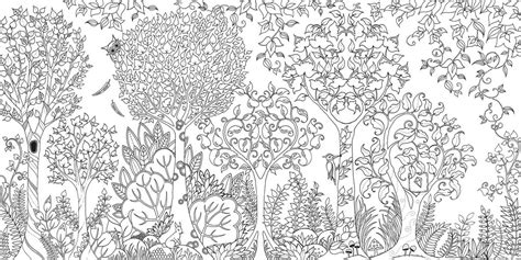 secret garden coloring book new york times enchanted forest an inky quest coloring book by johanna