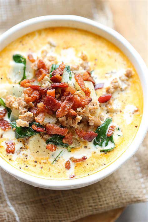 olive garden zuppa toscana copycat recipe olive garden s zuppa toscana 50 popular restaurant dishes hacked popsugar food