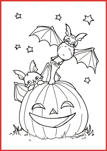 ausmalbild fledermaus halloween gratis rooms project
