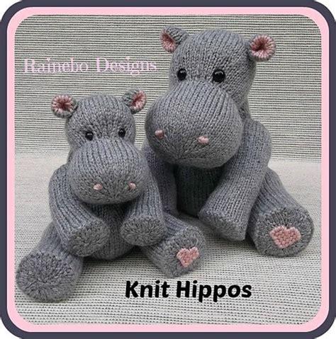 raii pattern in c hippos knitting pattern by rainebo