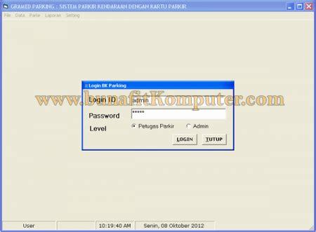 membuat barcode dengan vb sistem informasi parkir kendaraan berbasis barcode dan
