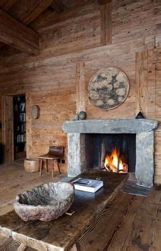 rustic fireplaces  pinterest architectural digest