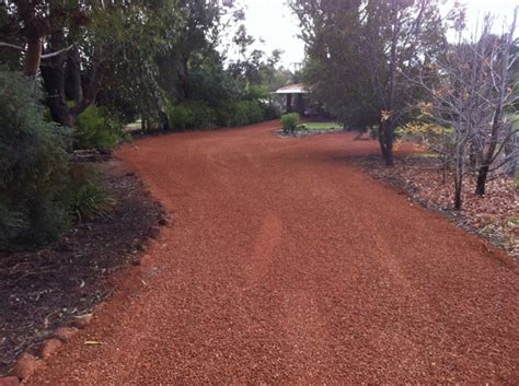 Pea Rock Driveway Earthmoving Services By Purcell S Earthmoving Rockingham