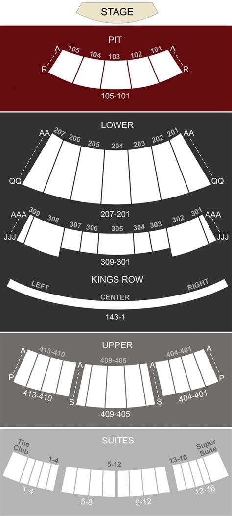 verizon theatre grand prairie tx seating chart stage