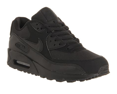 Nikea Airmex Y3 nike air max 90 black mono his trainers