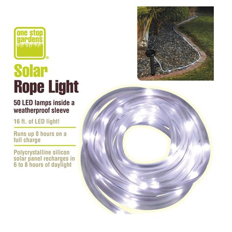 Solar Rope Light Harbor Freight Solar Rope Light