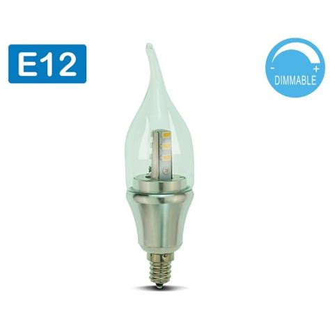 60 Watt Led Light Bulbs Led Candelabra Bulb Daylight Dimmable 6 Pack Omailighting E12 6w 60w 60 Watts Led Bulb Bullet Top