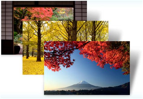 themes for windows 7 japan beautiful autumn colors from japan come to adorn your