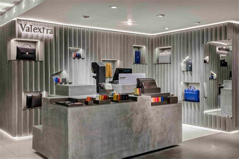 designboom retail valextra retail space at harrods by david adjaye london
