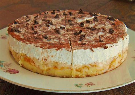 rezepte für kuchen und torten mandarinen schmand torte rezept mit bild