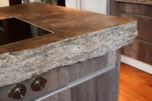 arbeitsplatte aus stein progressives wohnen die designerk 252 che mit holzboden und