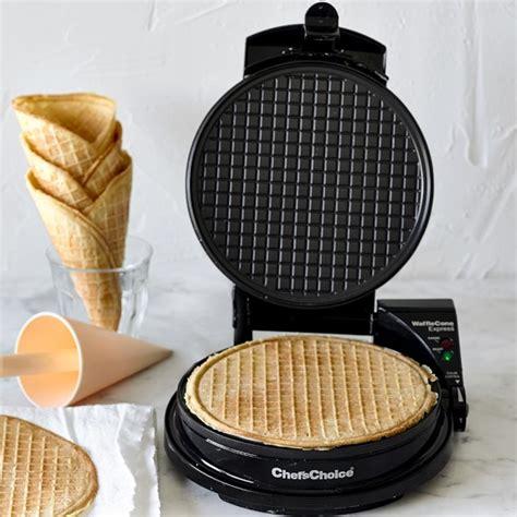 Cone Maker chef schoice waffle cone maker williams sonoma