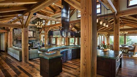 rustic open floor plans rustic living room kitchen open floor plans shabby chic rustic living room rustic open floor
