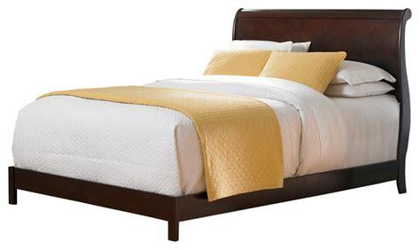 curved platform bed shop houzz fashion bed group bridgeport platform bed