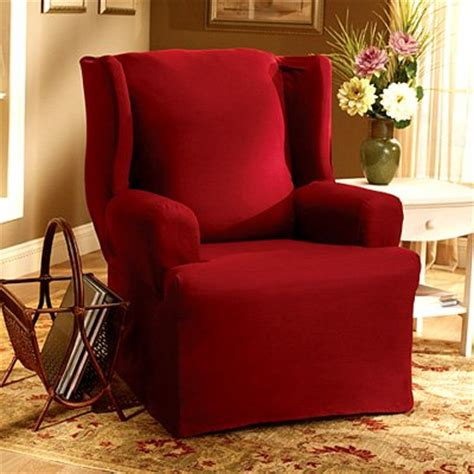 Discount Chair Slipcovers Wing Chair Slipcovers August 2011 If Finding The Best