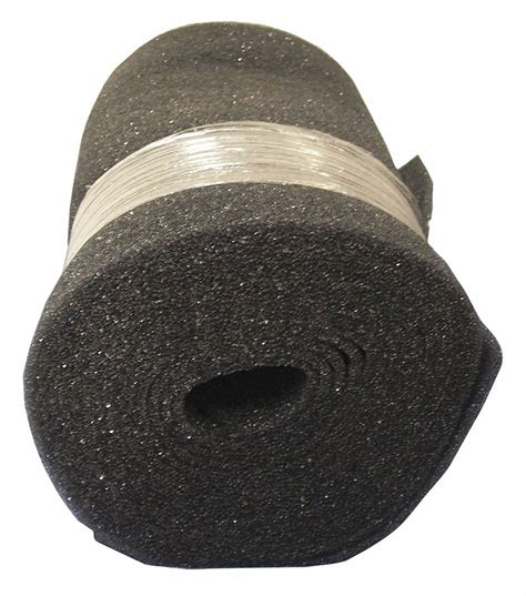 air handler air filter roll  ft nominal width  nominal height    merv foam