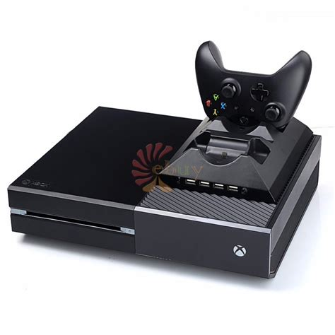 one accessories cooler fans 2 charger ports charging station for two xbox