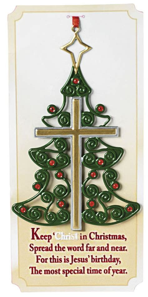 jesus christmas tree keep jesus in christian ornaments christian gifts
