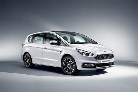 Ford S Max by Ford Luxes Up Edge Kuga Mondeo S Max With Vignale