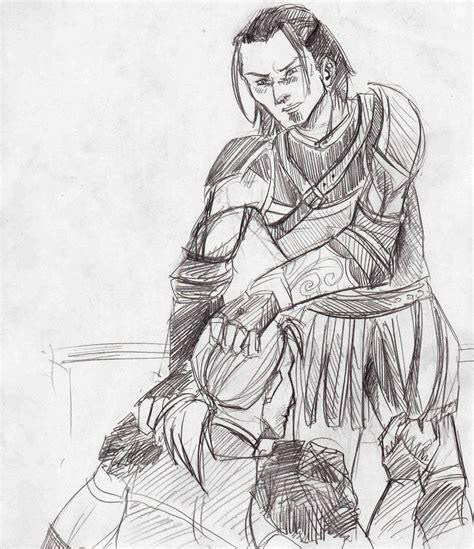 Dragon Age Kink Meme - daawakening natehowe x anders by payroo on deviantart
