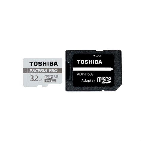 Microsd Toshiba Exceria Toshiba Microsd Exceria Pro M401 32gb 95 80 Mb S Minneskort Sdxc Actionking Se