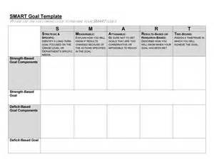 template for goals 48 smart goals templates exles worksheets template lab