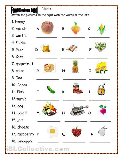 What Kind Of Sheets Are The Best by 6 Best Images Of Printable Worksheets For French Food