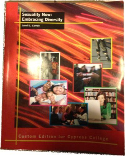 sexuality now embracing diversity books sexuality now embracing diversity custom edition for