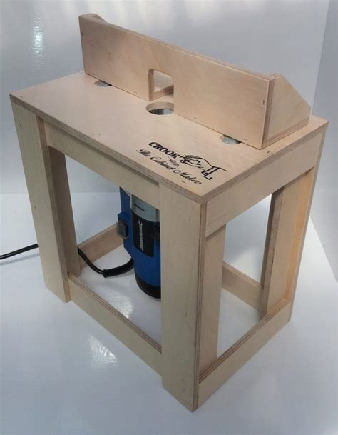 mini router table compact deisgn crooks