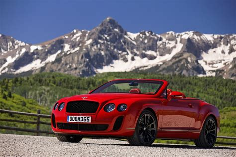 bentley sports car convertible 2011 bentley continental supersports convertible on the