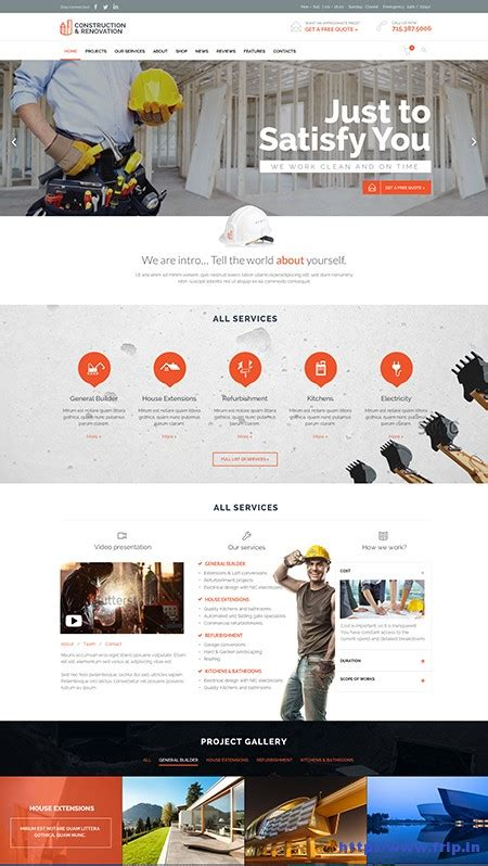 wordpress layout constructor 30 best wordpress construction themes 2015 frip in
