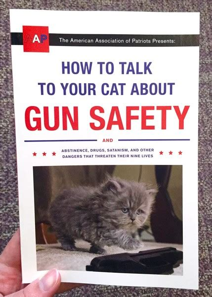 how to your to speak how to talk to your cat about gun safety and abstinence microcosm publishing