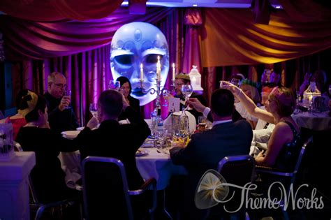 mask themed events theme works venetian masquerade theme party