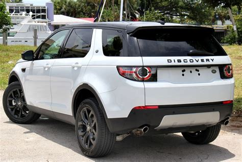 land rover discovery black 2016 land rover discovery sport 2016 black package on white