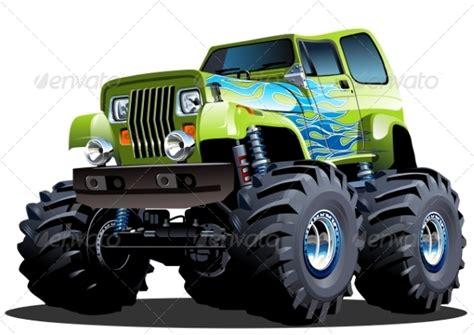Kaos 3d Hotwheels Jeep White truck by mechanik graphicriver