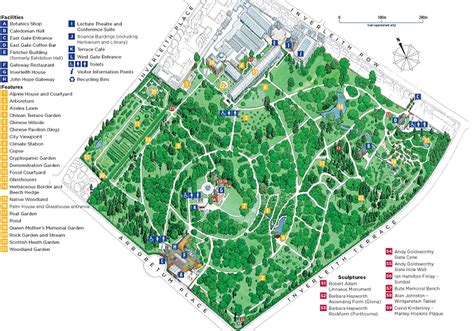 Royal Botanic Gardens Map My Blog Melbourne Botanical Gardens Map