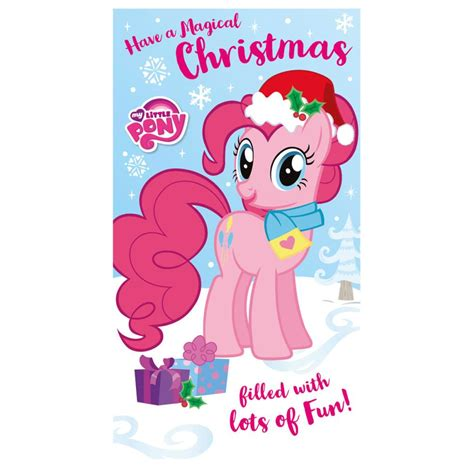my little pony christmas card mlx07 character brands