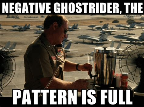 pattern is full ghostrider negative ghost rider the pattern is full cris bradley