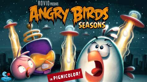 angry birds seasons new year theme angry birds seasons update new power birds