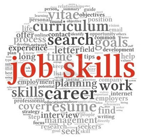 Example Of Skill In Resume by Important Skills Needed In Every Job Redwigwam