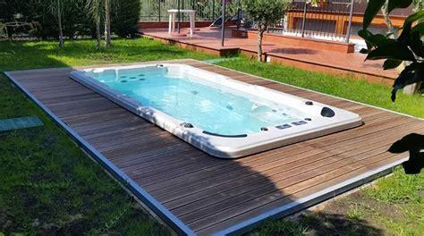 vasca nuoto controcorrente piscina idromassaggio e nuoto controcorrente in 9 mq