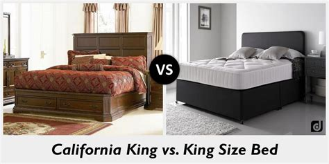 difference between california king and king size bed