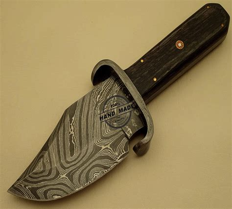 Hand Made Kitchen Knives by Best Damascus Skinner Knife Custom Handmade Damascus Steel