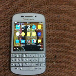 jual blackberry q10 putih baru handphone smartphone terbaru murah terjual