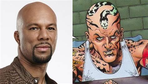 tattooed man dc squad do set photos reveal common as the tattooed
