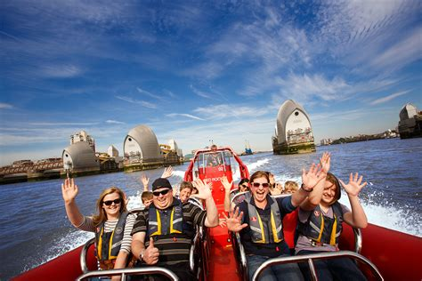 thames barrier karting thames rockets speed boat voyage for two