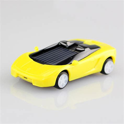 Did You See On Glosscomfree Shipping 4 Mini B 3 by 1 Pcs Random Color Mini Plastic Solar Power Car Solar