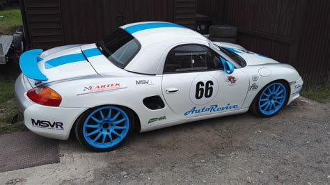 porsche boxster rally car racecarsdirect com porsche boxster 3 2s race car