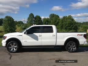 Wheels F150 Truck 2012 Ford F 150 Fx4 Ecoboost White Crew Cab 20 Inch Wheels