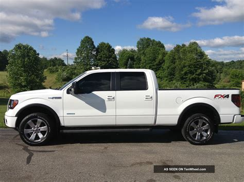 2012 Ford F 150 Fx4 Ecoboost White Crew Cab 20 Inch Wheels F 150 Photo | 2012 ford f 150 fx4 ecoboost white crew cab 20 inch wheels
